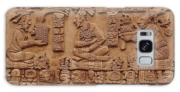 Aztec Woodcarving Tablets Galaxy Case