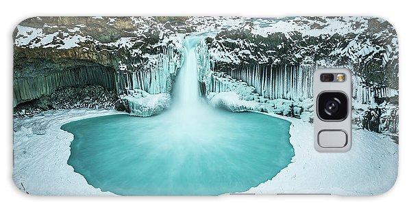 Ice Galaxy Case - Azure Blue Bliss by Jeffrey C. Sink