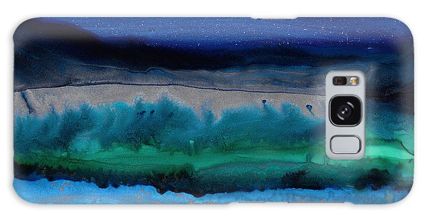 Azure Evening Galaxy Case