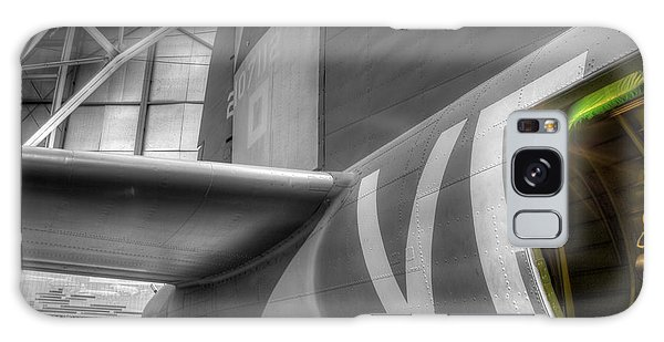 B-17 Bomber Tail Galaxy Case