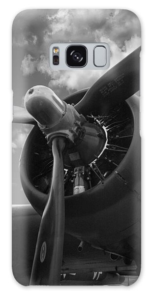 B-17 Engine Galaxy Case by Rod Seel