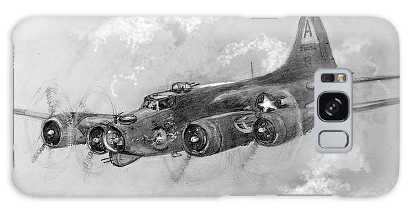 B-17 Flying Fortress Galaxy Case by Jim Hubbard