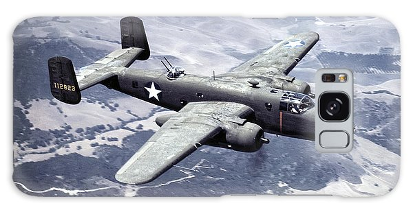 Bomber Galaxy Case - B-25 World War II Era Bomber - 1942 by Daniel Hagerman