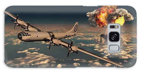 Weapons Galaxy Case - B-29 Superfortress Flying Away by Mark Stevenson