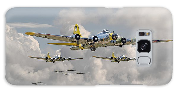 B17 486th Bomb Group Galaxy Case