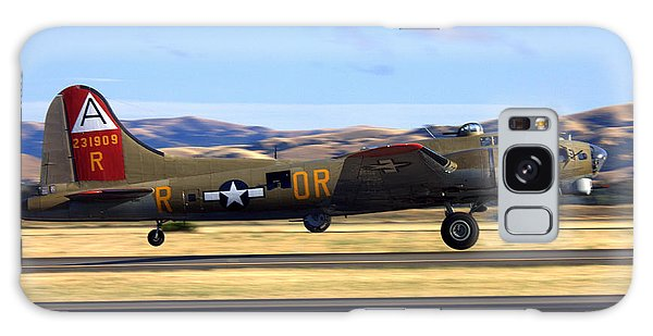 B17 Flying Fortress Departs Livermore Klvk Galaxy Case
