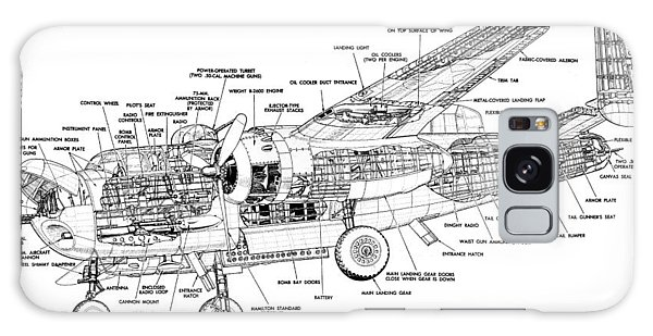 B25 Mitchell Schematic Diagram Galaxy Case