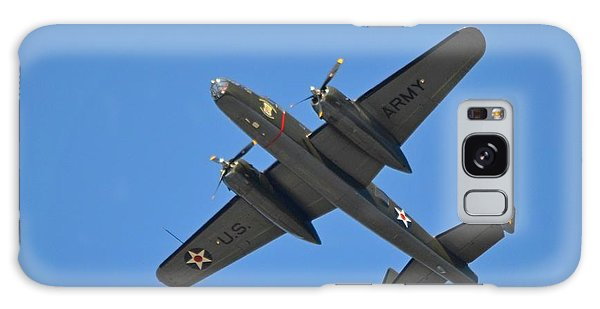 B25 Mitchell Wwii Bomber On 70th Anniversary Of Doolittle Raid Over Florida 21 April 2013 Galaxy Case