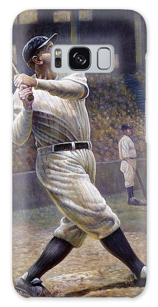 Babe Ruth Galaxy Case by Gregory Perillo