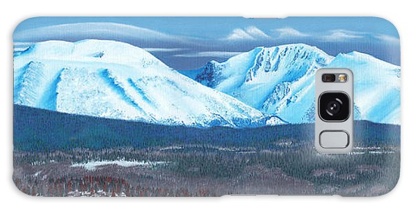 Babine Mountain Range Galaxy Case