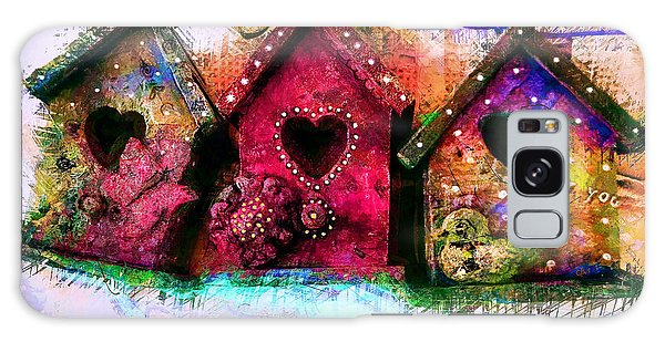 Baby Birdhouses Galaxy Case