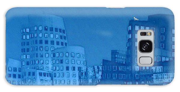 Baby Blue Galaxy Case by Mojo Mendiola