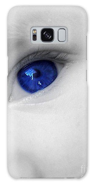 Baby Blue Galaxy Case
