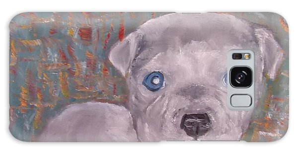 Baby Blue Pit Galaxy Case
