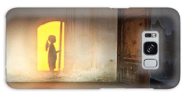 Baby Do Not Open That Door Galaxy Case