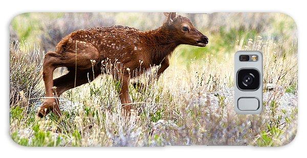 Baby Elk Galaxy Case