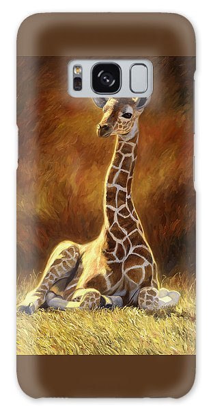 Baby Giraffe Galaxy Case