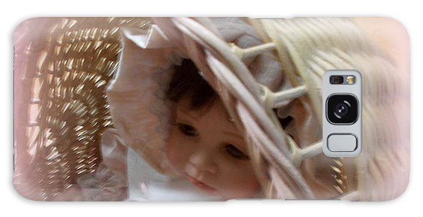 Baby In Pink Galaxy Case