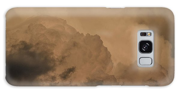 Baby In The Clouds Galaxy Case by Bradley Clay
