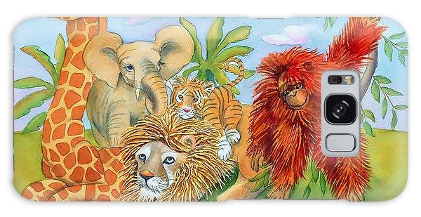 Baby Jungle Animals Galaxy Case