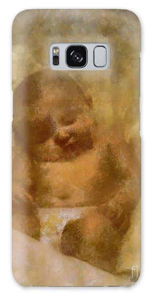 Baby Lexa Galaxy Case by Yanni Theodorou