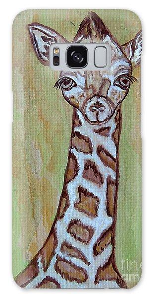 Baby Longneck Giraffe Galaxy Case by Ella Kaye Dickey