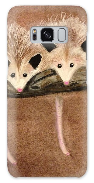 Baby Possums Galaxy Case
