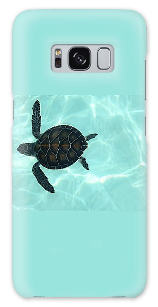 Baby Sea Turtle Galaxy Case