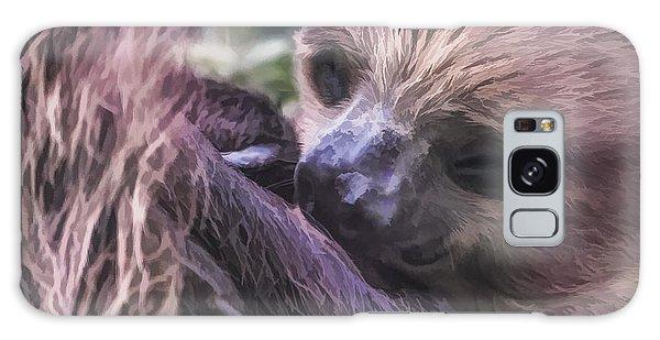 Baby Sloth Galaxy Case
