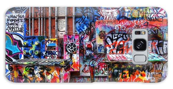 Back Alley Canvas Galaxy Case