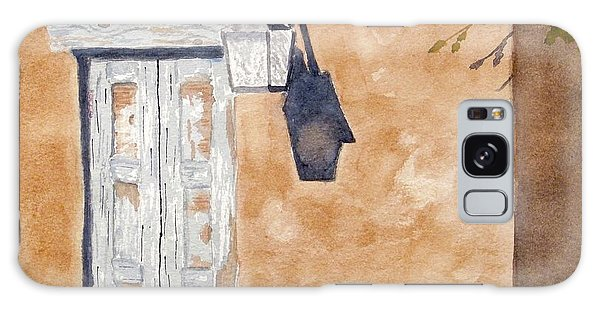 Galaxy Case featuring the painting Back Alley New Mexico by Rich Stedman