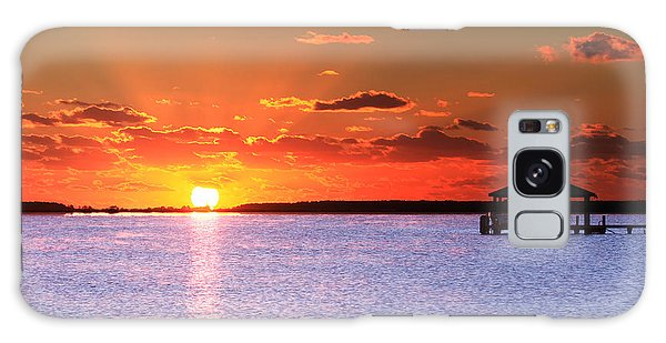 Back Bay Sunrise Galaxy Case