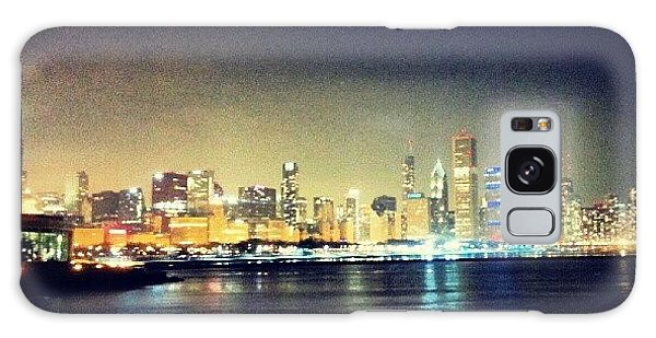 Skylines Galaxy Case - Back In Chicago by Jill Tuinier