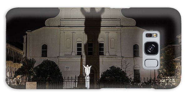 Back Of St Louis Cathedral In New Orleans Galaxy Case