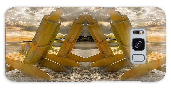 Adirondack Chair Galaxy Case - Back To Back Adirondacks by Betsy Knapp