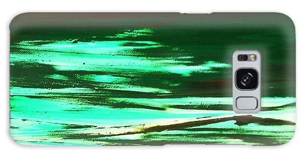 Back To Canvas The Landscape Of The Acid People Galaxy Case by Sir Josef - Social Critic -  Maha Art