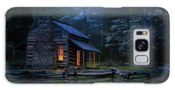 Cottage Galaxy Case - Back To Good Old Days by J&w Photography
