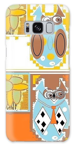 Back To School Owl Galaxy Case