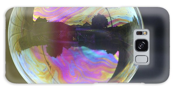 Back Yard Bubble Galaxy Case
