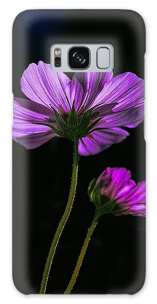 Backlit Blossoms Galaxy Case by Marty Saccone