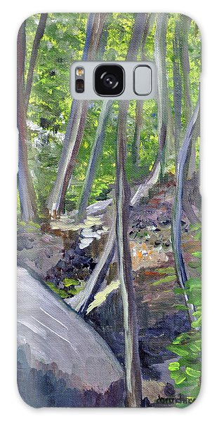 Backyard At Sussex 1 Galaxy Case by Dottie Branchreeves