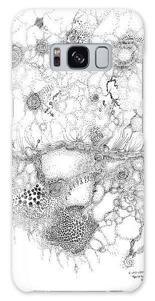 Bacteriophage Ballet Galaxy Case by Regina Valluzzi