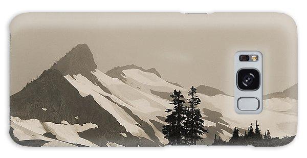 Fog In Mountains Galaxy Case