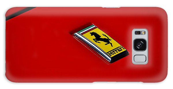Badge In Red Galaxy Case by Dean Ferreira