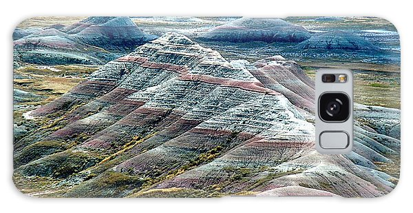 Galaxy Case featuring the photograph Badlands1 by Gerald Greenwood