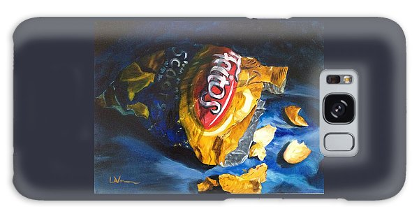 Bag Of Chips Galaxy Case by LaVonne Hand