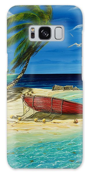 Bahama Beach Galaxy Case