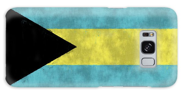Bahamas Galaxy Case - Bahamas Flag by World Art Prints And Designs