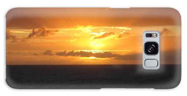 Bahamas Ocean Sunset Galaxy Case by John Telfer