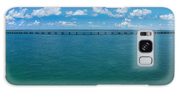 Bahia Honda Bridge Panorama Galaxy Case